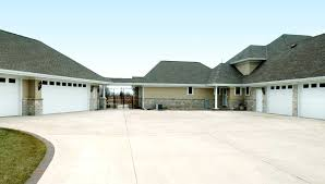 Garage Style Homes Real Estate Sale Big Garage Homes Parking Home Building Plans