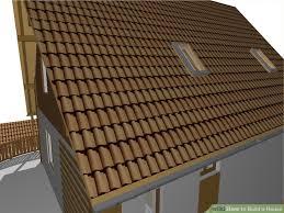 build a house how to build a house roof ideas impressive home