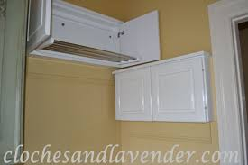 laundry room hanging drying rack