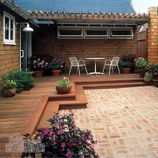 How To Decorate Decks And Patios Best 25 Small Backyard Decks Ideas On Pinterest Small Deck