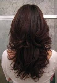 how to cut hair do that sides feather back on lady step cut hairstyle for wavy hair http www gohairstyles net