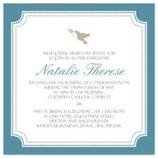 confirmation invitation party invitations simple dove confirmation invite at minted