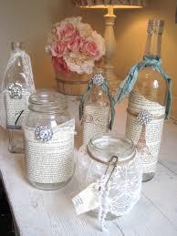 decorative glass jars for bathroom decorative glass jars to