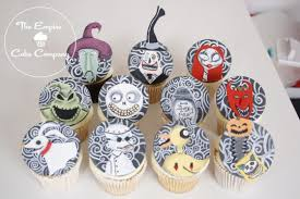 nightmare before christmas cupcake toppers nightmare before christmas cupcakes cake by the empire cake