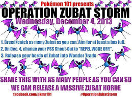 Zubat Meme - operation zubat storm pokemon