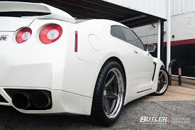 vossen jeep wrangler nissan gtr with 20in vossen vws3 wheels by butlertire butler