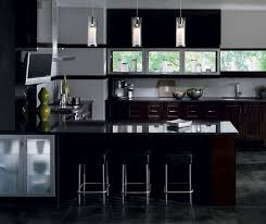 Contemporary Kitchen Cabinets In Espresso Finish Kitchen Craft - Kitchen cabinets finish