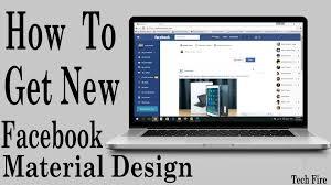 how to get new facebook material design fb flat youtube how to get new facebook material design fb flat