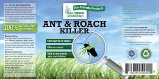 amazon com go green 2 in 1 ant and roach killer and repellent
