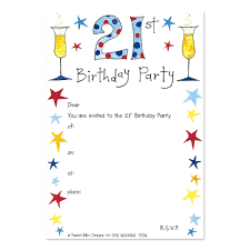 Example Of Invitation Card For Birthday 21st Birthday Invitations Wording Futureclim Info