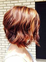 short wavy bob haircut with blended colors hairstyles weekly