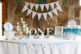 boy 1st birthday winter onederland birthday party theme baby boy s