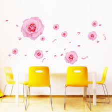 Home Decoration Wall Stickers by Online Get Cheap Floral Wall Decals Aliexpress Com Alibaba Group