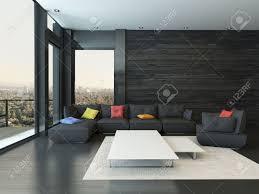 Wohnzimmer Einrichten Mit Schwarzer Couch Beautiful Wohnzimmer In Schwarz Weiss Stil Photos Ghostwire Us