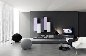 Design Wohnzimmer Moebel Wohnwand Schrankwand Lila Hochglanz Lack Italia Day