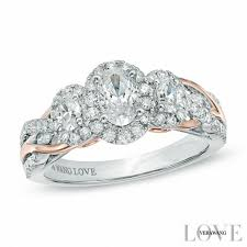 engagement and wedding rings vera wang collections zales