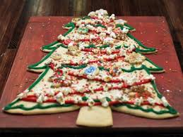 christmas tree cookie cake recipe food network kitchen food