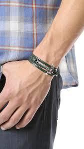 leather wrap bracelet with anchor images Miansai anchor bracelet jpg