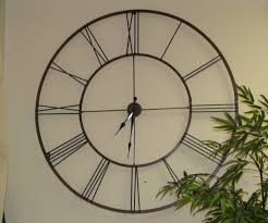 jolly large wall decor clock clocks living also large living room