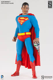 sixth scale superman figure sideshow collectibles