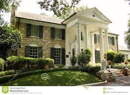 graceland elvis presley graceland mansion in memphis editorial stock photo