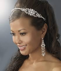 bridal headband silver bridal headband hair accessories