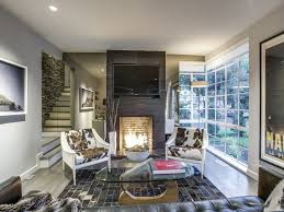 Modern 1930s Interior Design by Outstanding Cochran Heights International Style Designed By