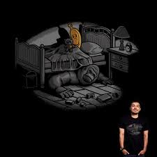 score monster under the bed by ben chen on threadless