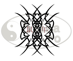 tribal tattoo the year of the rat chinese zodiac u0027s symbols tattoos