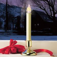 Christmas Decorations Candle In Window by Windows Christmas Candles For Windows Cordless Decor Decoration