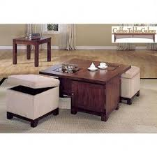 Pull Out Ottoman Coffee Table With Pull Out Ottomans Foter