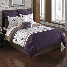 Plum Bed Set August Plum 8 Comforter Set Bed Bath Beyond