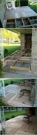Patio Furniture Made Of Pallets - best 25 pallet porch ideas on pinterest pallet patio pallet