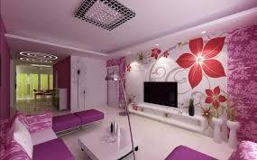 tapete wohnzimmer tapeten ideen wohnzimmer mit schön floral muster
