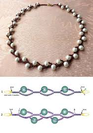 make necklace from beads images 962 best tutorials bead stringing and weaving images on jpg