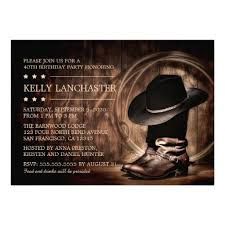 435 best western birthday party invitations images on pinterest