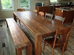 Antique Farm Tables by Rustic Kitchen Tables Diy Wood Kitchen Table Plans Wood Table