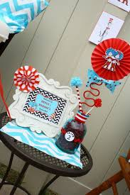 dr seuss party decorations kara s party ideas thing one thing two dr seuss themed birthday