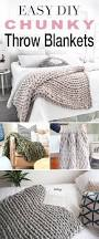 easy diy chunky throw blankets u2022 the budget decorator