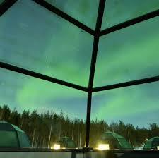 finland northern lights hotel sinettä sinettä finland northern lights from my glass igloo at