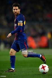 Lionel Messi Leg Lionel Messi Of Barcelona Runs With The During The Copa