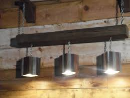 rustic beam light fixture modern rustic reclaimed wood and barn beam hanging light fixture on