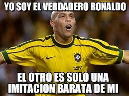 Memes De Ronaldo - yo soy el verdadero ronaldo ronaldo meme on memegen