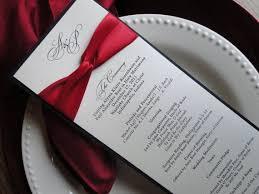 wedding program paper stock 47 best tracy wedding stationary images on wedding