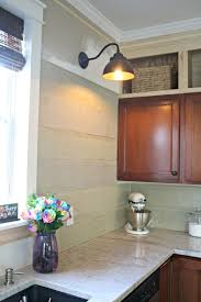 How To Install A Backsplash In A Kitchen My Unusual Backsplash Choice From Thrifty Decor
