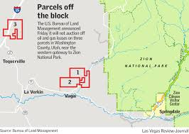 Utah Blm Map by Blm Pulls Plan To Auction Oil And Gas Leases Near Zion National