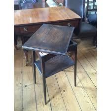 fold away card table edwardian oak card table