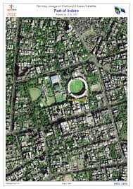 Ncc Campus Map First Day Image From Cartosat 2 Series Satellite Isro