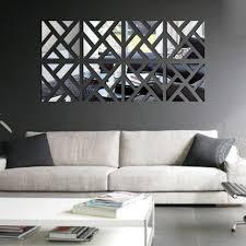 decor 32 3d wall stickers font b mirror b font acrylic adesivo