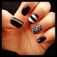100 black nail designs 25 best black white nails ideas on